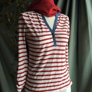 RALPH LAUREN ✨ Striped Cotton Shirt ✨